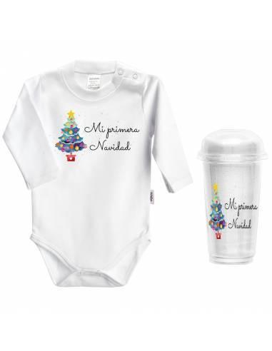 """Body bebé NAVIDAD """"Mi primera navidad"""" - Bodys bebé personalizados"""