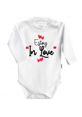 """BODYS BEBÉ PERSONALIZADOS - Body bebé personalizado """"Estoy in love con papi"""""""