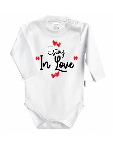 """Body bebé personalizado """"Estoy in love con papi"""" - Bodys bebé personalizados"""
