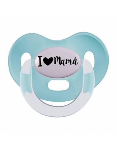 Chupete día de la madre: I love mamá - Chupetes originales con frases