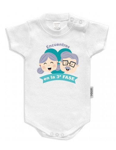 """Body bebé personalizado """"Encuentros en la 3ª fase"""" - Bodys bebé personalizados"""