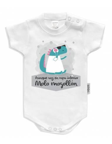 Body bebé personalizado DINO DJ - Bodys bebé personalizados