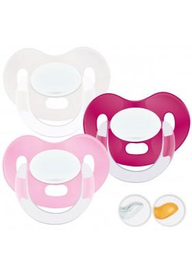 Chupetes recién nacidos 0-6 meses - Chupetes Personalizados MAXIBEBÉ Básico Niña 0-6m