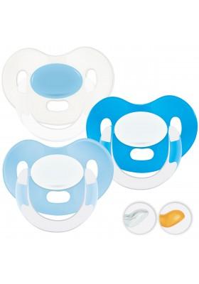 Chupetes recién nacidos 0-6 meses - Chupetitos Personalizados MAXIBEBÉ Glamour Niño 0-6m