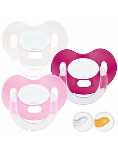 Chupetes Personalizados MAXIBEBÉ Básico Niña 6-36m - Chupetes bebés 6-36 meses