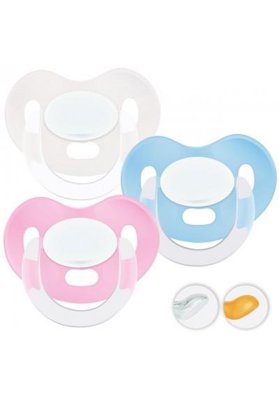 Chupetes bebés 6-36 meses - Chupetes Personalizados MAXIBEBÉ Pastel 6-36m