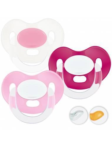 Chupetes Personalizados MAXIBEBÉ Glamour Niña 6-36m - Chupetes bebés 6-36 meses