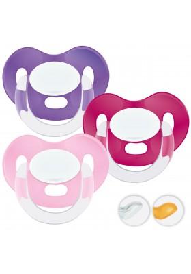 Chupetes bebés 6-36 meses - Chupetes Personalizados MAXIBEBÉ Rosas 6-36m