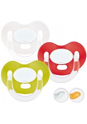 Chupetes bebés 6-36 meses - Chupetes Personalizados MAXIBEBÉ Rojo Verde 6-36m