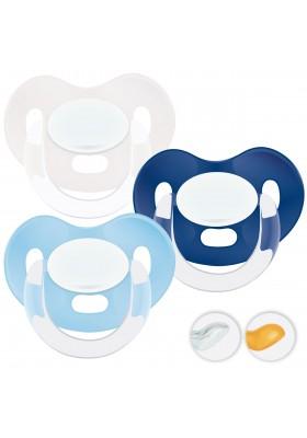 Chupetes recién nacidos 0-6 meses - Chupetes Personalizados Blue Boy 0-6m