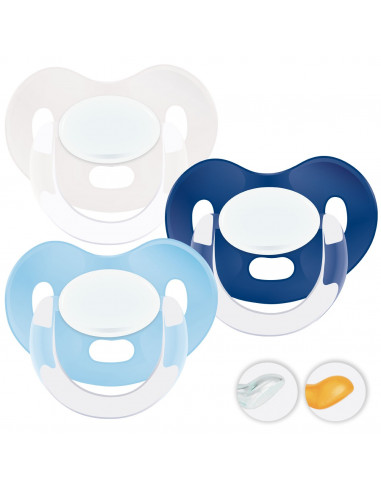 Chupetes Personalizados MAXIBEBÉ Blue Boy 6-36m - Chupetes bebés 6-36 meses
