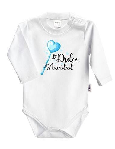 """Body bebé Navidad """"Dulce Navidad"""" - Bodys bebé personalizados"""