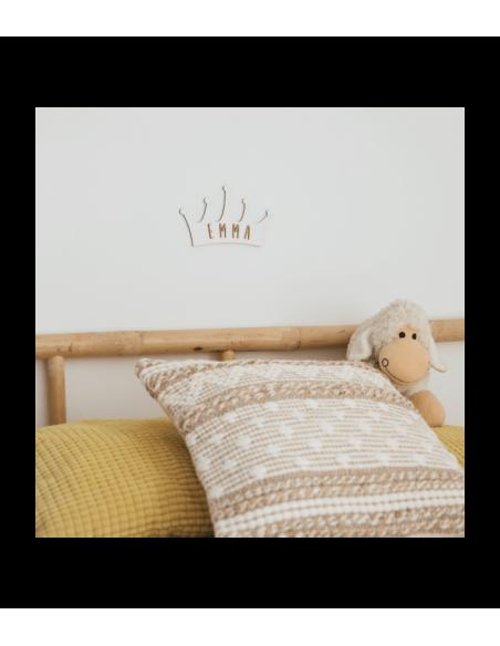 Placa de madera CORONA personalizada - Días especiales