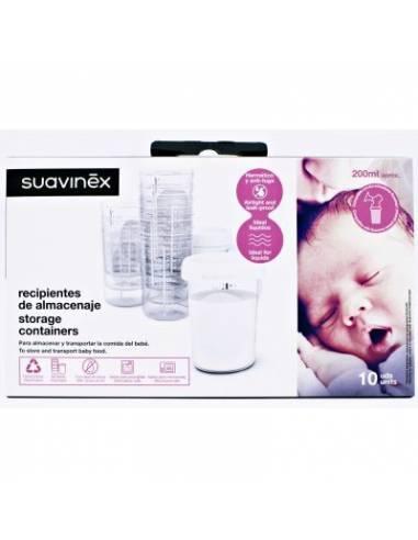 Recipientes de almacenaje Suavinex - Inicio
