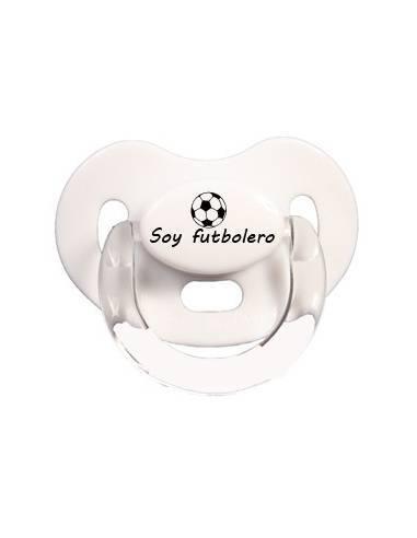 Soy futbolero - Chupetes originales con frases