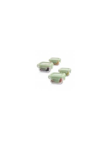 Fiambreras cristal infantil Miniland - Paseo