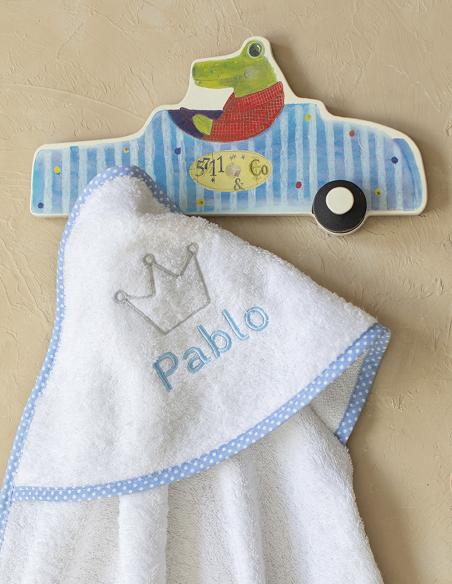 Capas de baño bordadas