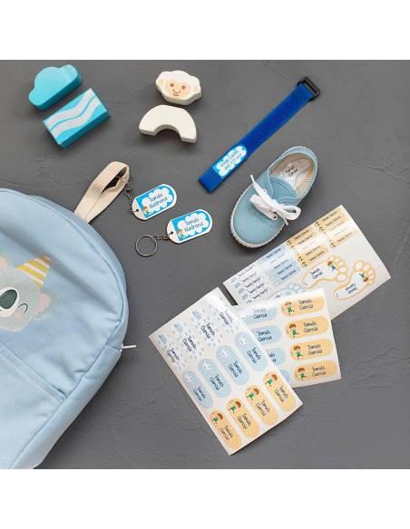 Chapas y pulseras identificativas con el nombre