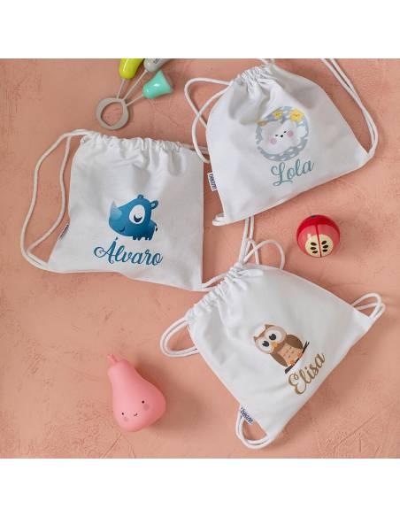 Talegas bebé personalizadas
