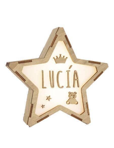 Lámpara infantil personalizada