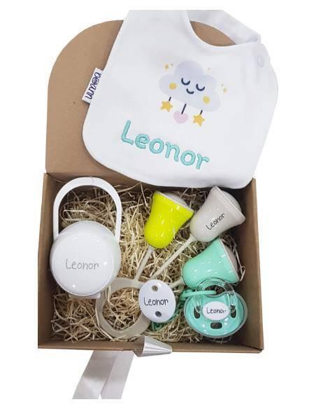 Cajas de regalo bebé personalizadas