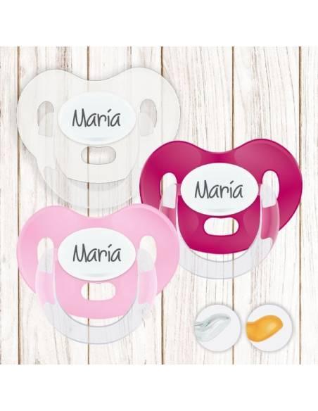- Pack de chupetes recién nacido 0 a 6 meses