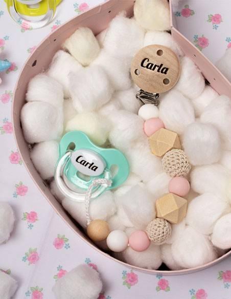 Chupetes personalizados para bebés